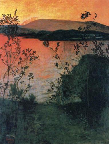 Noite 2, c.1905 - Harald Sohlberg