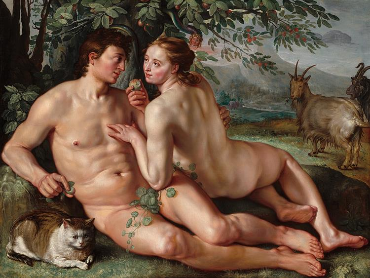 The Fall of Man, 1616 - Hendrick Goltzius