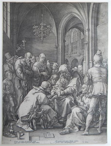The Circumcision, 1594 - Hendrick Goltzius
