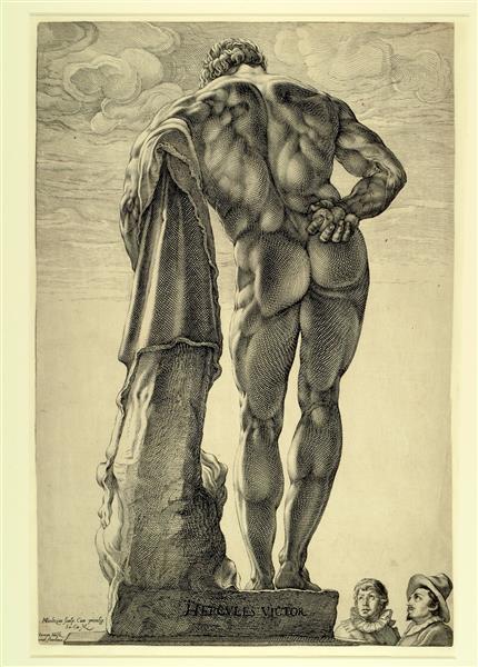 Farnese Hercules - Hendrick Goltzius