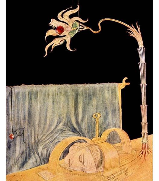 Flower of Dreams, 1917 - Stanisław Szukalski