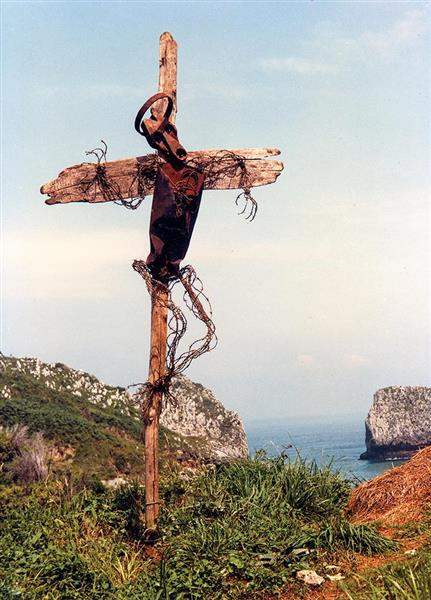 Barbed Wire of Christ, 1983 - Lubo Kristek