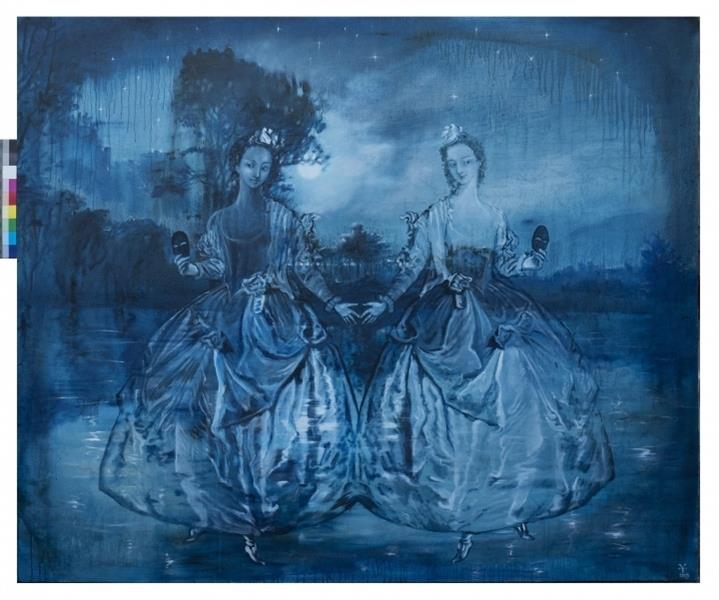 Gliding by the Night Duality of Mirrors, 2007 - Valeria Trubina