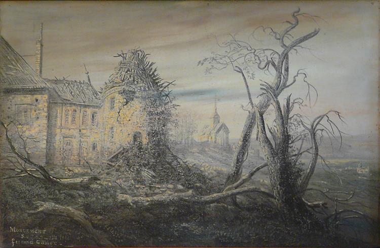 Mondement, 1914 - Fernand Combes