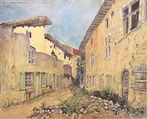Pérouges, Rue Des Princes - Fernand Combes