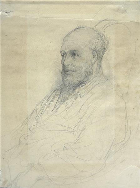 Portrait d'homme, c.1882 - Gustave Dore