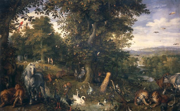 The Garden of Eden with the Fall of Man, 1609 - Jan Brueghel the Elder
