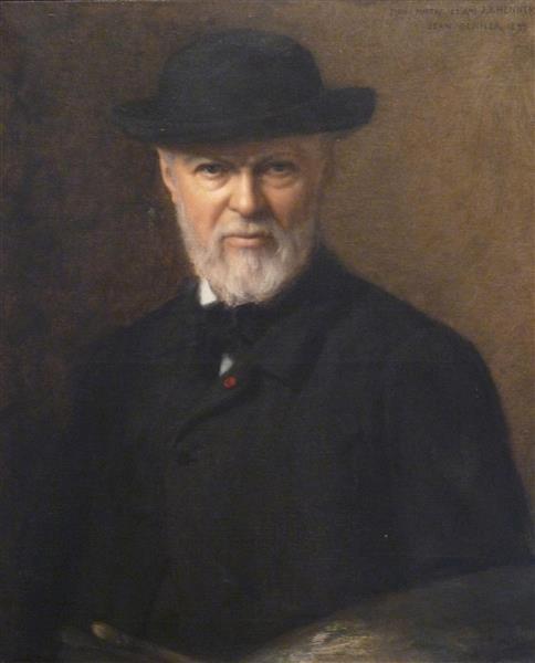 Portrait de Jean-Jacques Henner, 1890 - Jean Benner