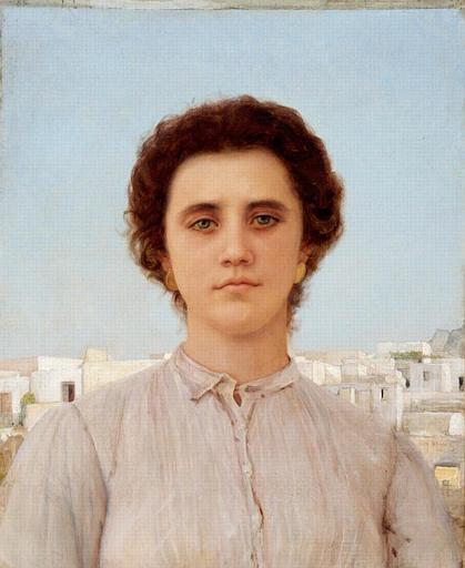 Jeune Fille de Capri, 1906 - Жан Беннер