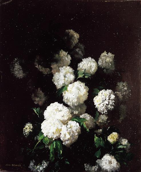 Цветы, 1860 - Жан Беннер