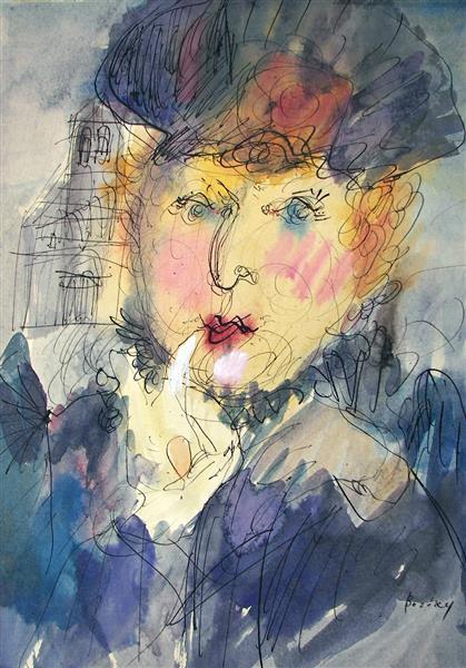 PROUST: Madame Verdurin, 1979 - Maria Bozoky