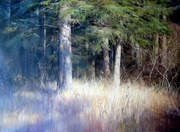 SUMMER FOREST, 2016 - Aleksander Belyaev