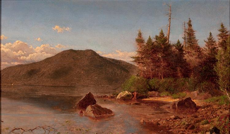 Adirondack Lake, 1870 - Alexander Helwig Wyant