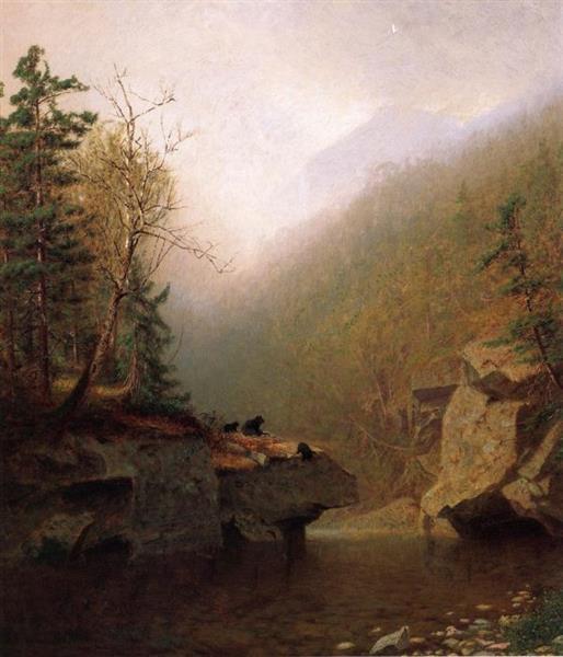 Three Bears, 1865 - Alexander Helwig Wyant