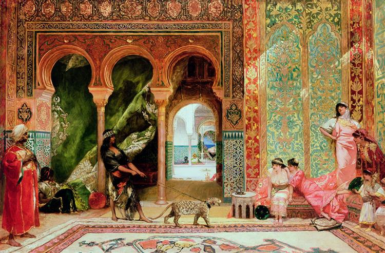 A Royal Palace in Morocco - Benjamin Constant