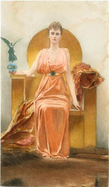 Portrait of Madame Hélène Vincent - Жан-Жозеф Бенжамен-Констан