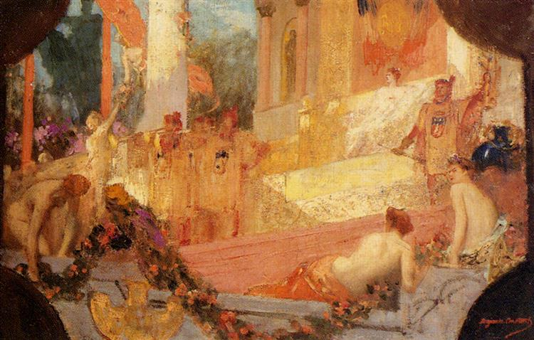 Paris Welcoming the World - Jean-Joseph Benjamin-Constant