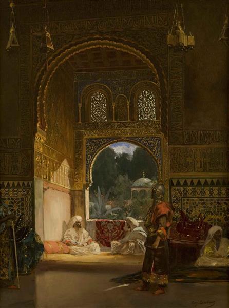 Dans Le Palais Du Sultan - Benjamin Constant