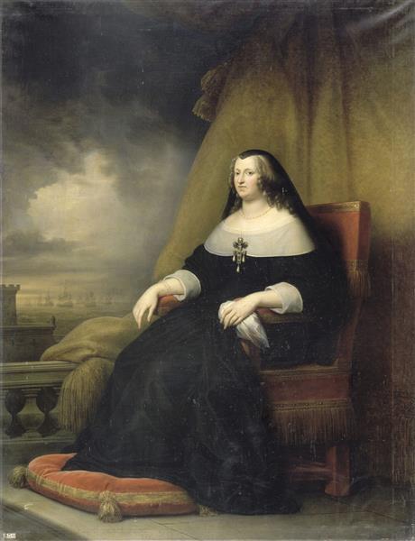 Anne D'autriche, Reine De France, 1838 - Charles de Steuben