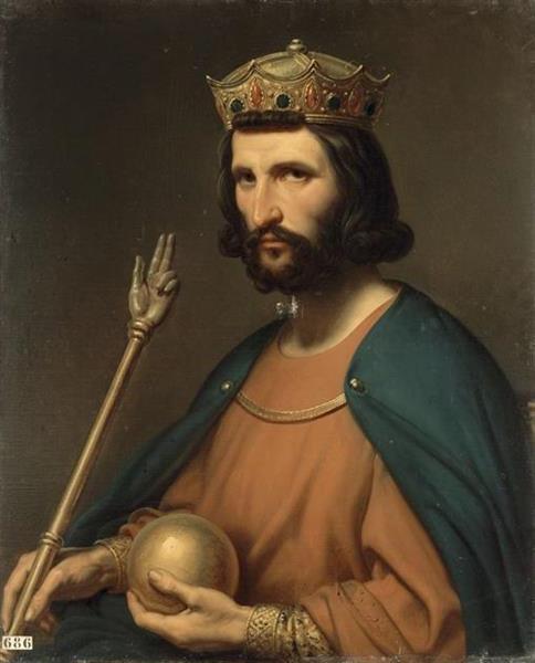 King Hugh of France - Charles de Steuben