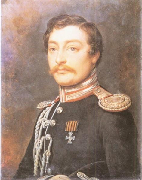 Portrait of Alexander Pavlovich Benkendorf - Charles de Steuben
