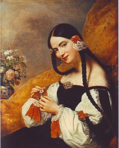 Andalousienne - Charles de Steuben