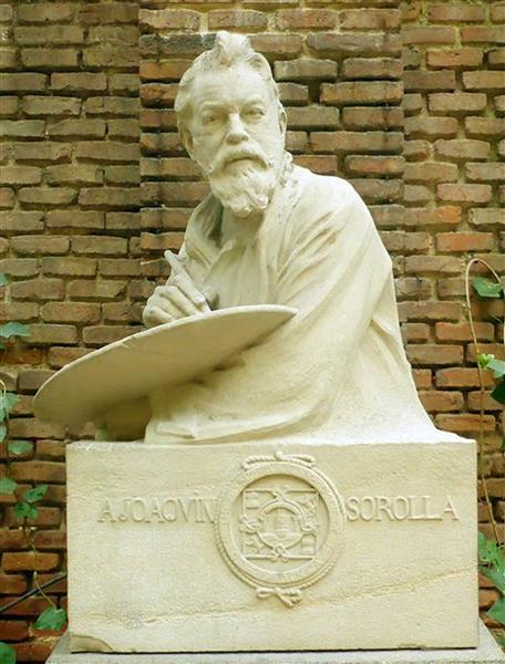 Busto de Joaquín Sorolla - Mariano Benlliure
