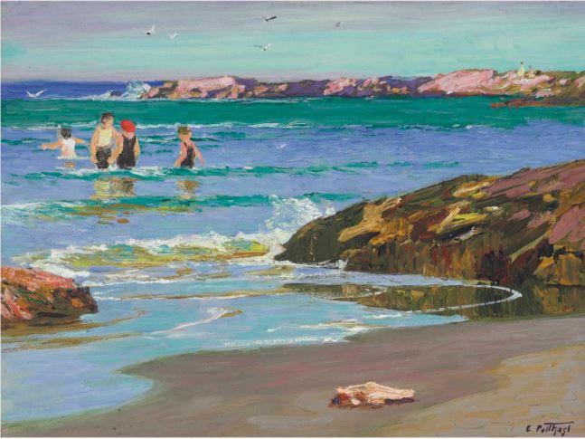 Low Tide, 1915 - Edward Henry Potthast