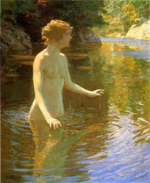Enchanted Pool - Edward Henry Potthast