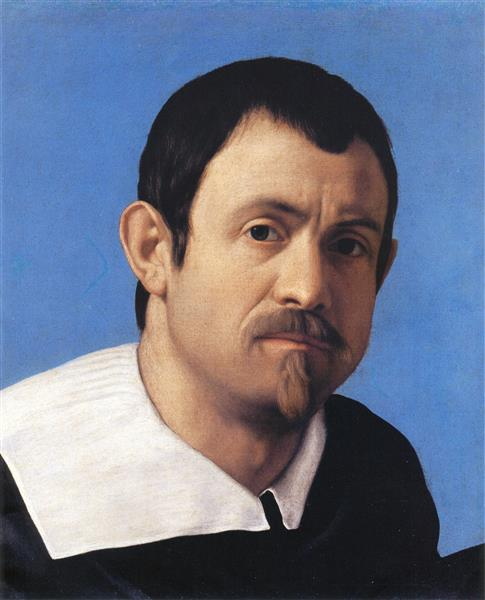 Self-portrait, c.1650 - Giovanni Battista Salvi da Sassoferrato