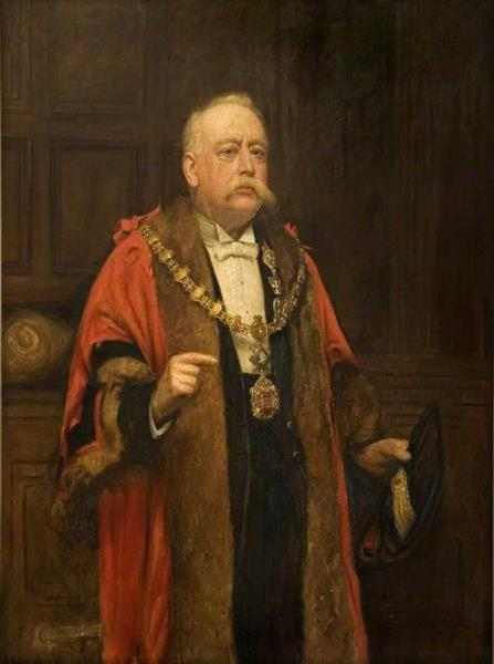 Alderman William Groom, 1903 - Frederick George Cotman