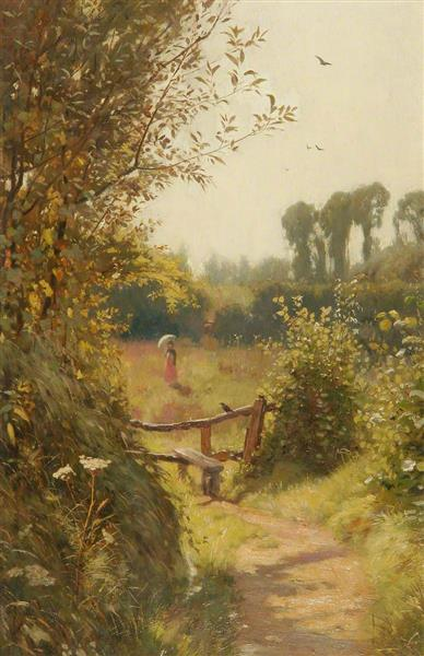 From Shade to Sunshine, 1880 - Frederick George Cotman