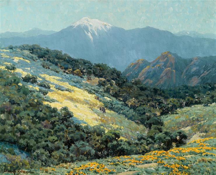 Valley Splendor - Granville Redmond