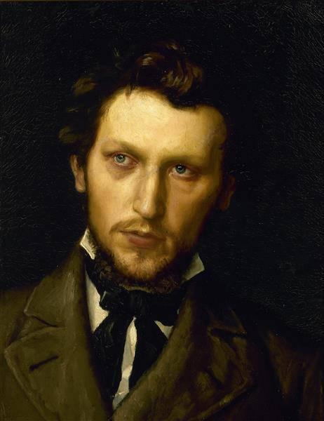 Portrait of Laurits Andersen Ring - Hans Andersen Brendekilde