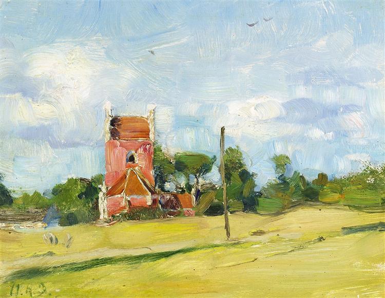 Byrum Kirke På Læsø - Hans Andersen Brendekilde