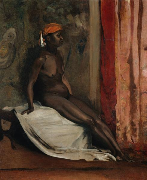 Seated African Woman - Henri Regnault