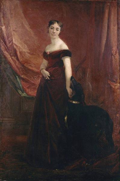 Mme Fouques-duparc, 1867 - Анри Реньо