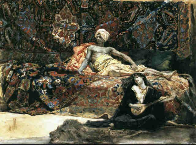 Hassan Et Namouna, 1870 - Henri Regnault