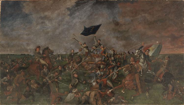 The Battle of San Jacinto, 1901 - Henry Arthur McArdle