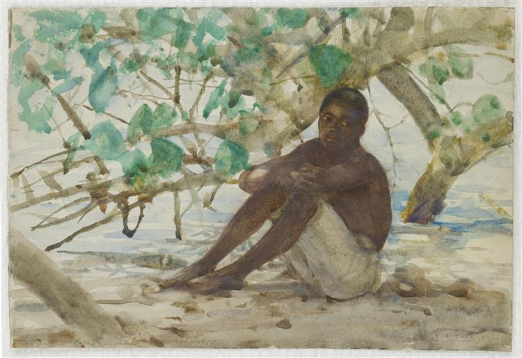 A West Indian Boy - Henry Scott Tuke