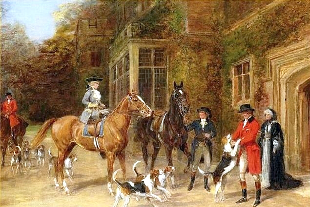 Off to the Hunt - Heywood Hardy