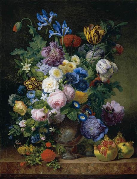 Still Life, 1810 - Jean-Joseph-Xavier Bidauld