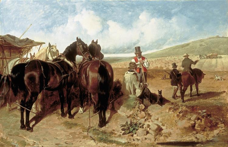 Autumn, 1846 - John Frederick Herring senior