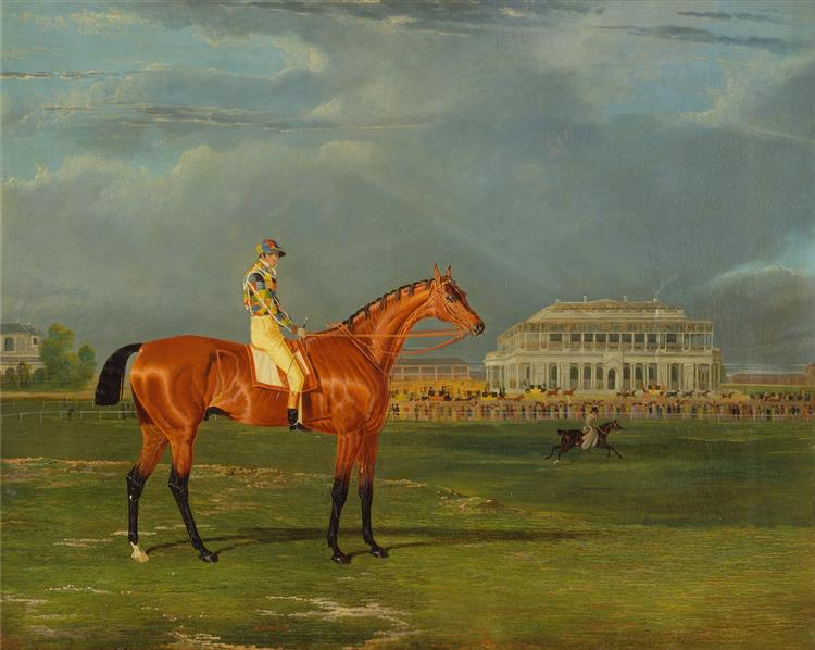 Memnon, with William Scott Up, 1825 - John Frederick Herring Sr.