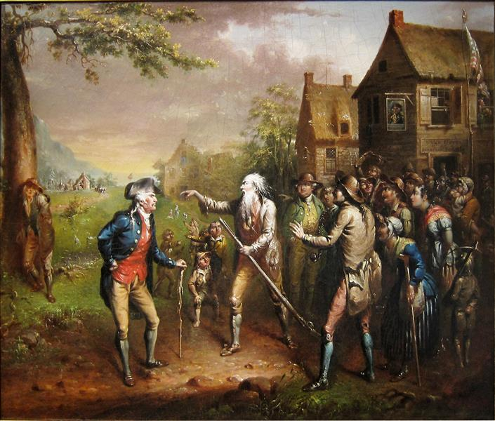 Rip Van Winkle, 1829 - John Quidor