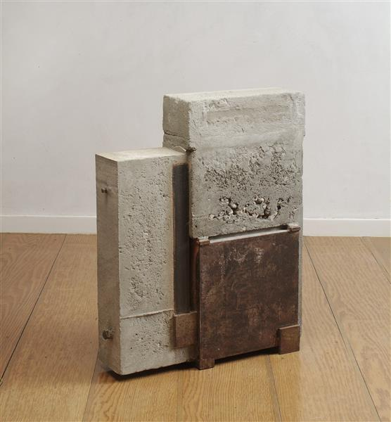 'Afterwards' by Carlos Granger -  abstract sculpture in concrete & steel, 2005 - 2007 - Carlos Granger