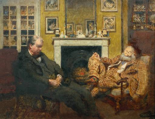 Sodales - Mr Steer and Mr Sickert - Henry Tonks