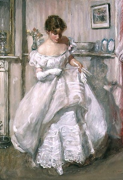 The Torn Gown, 1900 - Henry Tonks