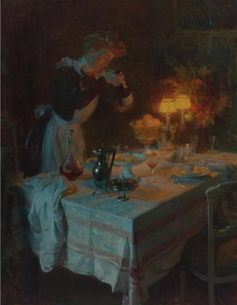 Effet De Lumiere - Jules-Alexandre Grun