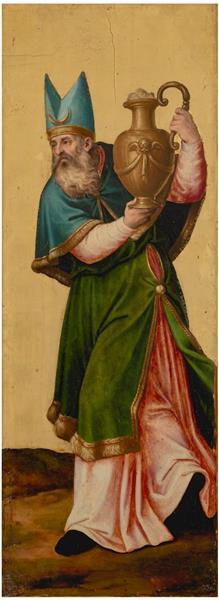 El Sumo Sacerdote Aarón, 1545 - 1550 - Хуан де Хуанес